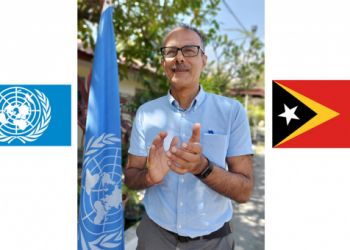 UN Timor-Leste Resident Coordinator Roy Trivedy lauds World Food Programme's Nobel Peace Prize Award and global recognition of the UN agency as the world's first responder